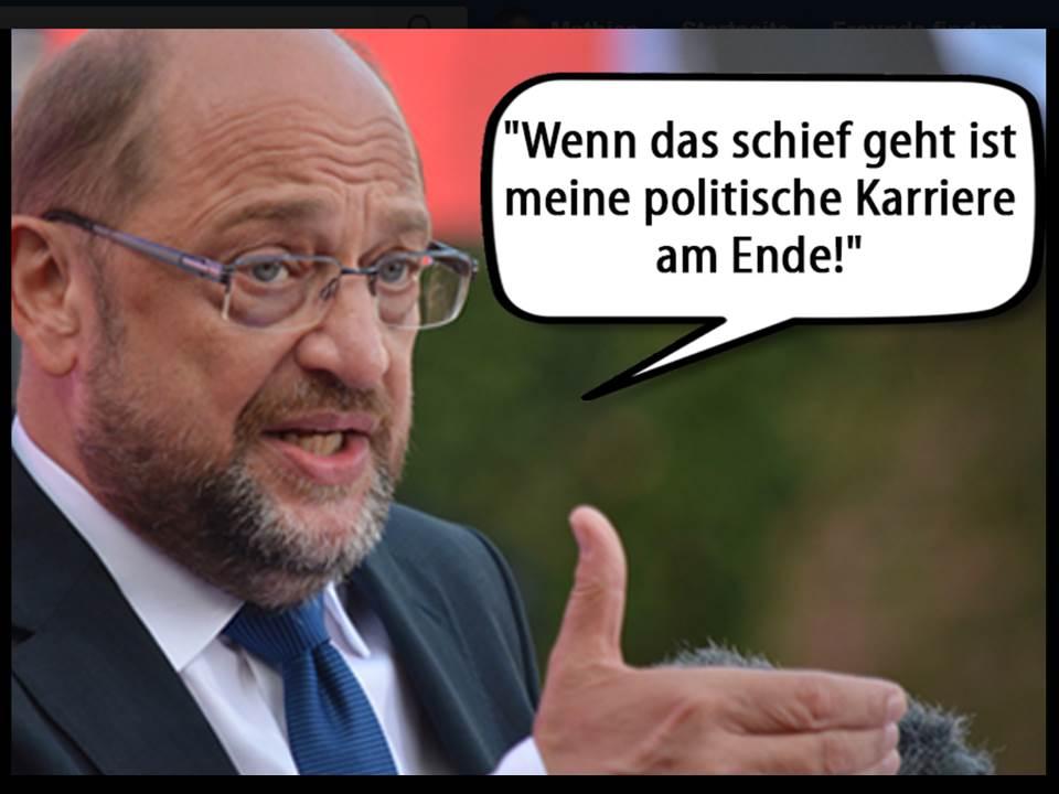 """Martin Schulz: """"Wenn die Verhandlung zur GroKo schiefgeht, ist meine Karriere am Ende"""""""